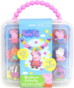 Peppa Pig Necklace Activity Case - English Edition