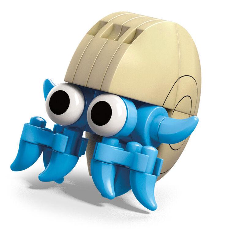 Mega Construx Pokémon Omanyte Figure