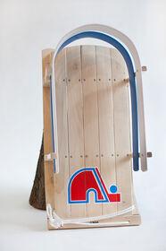JAB - Baby sled with NHL Quebec Nordics team' s logo