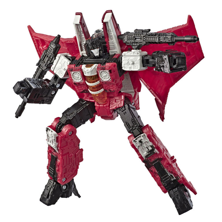 Transformers Decepticon Red Wing, War for Cybertron Voyager Figure - R Exclusive