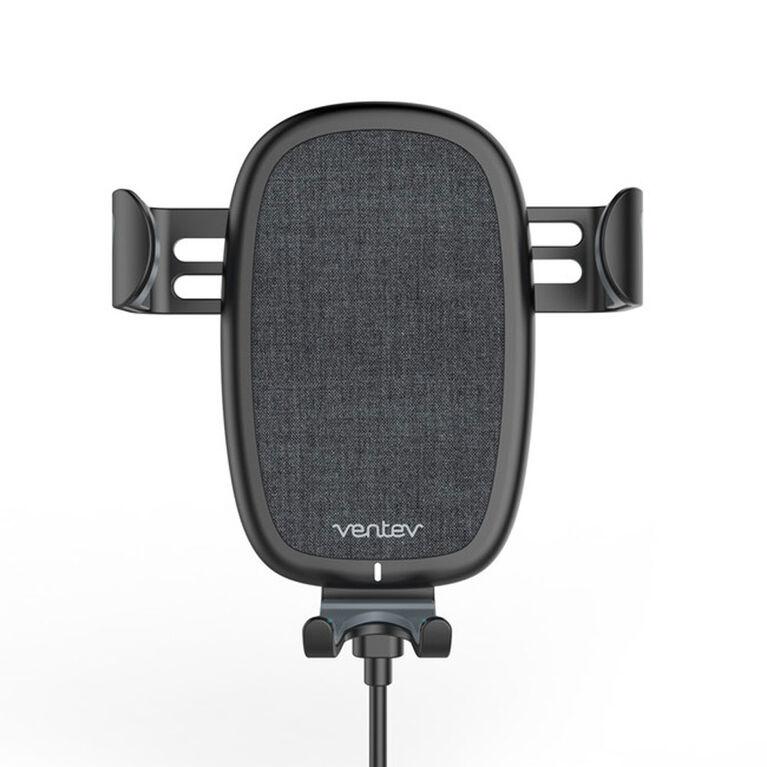 Ventev Wireless car Mount Kit Qi 10W Dark Grey