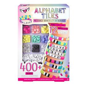 Alphabet Tiles Message Bracelet Kit