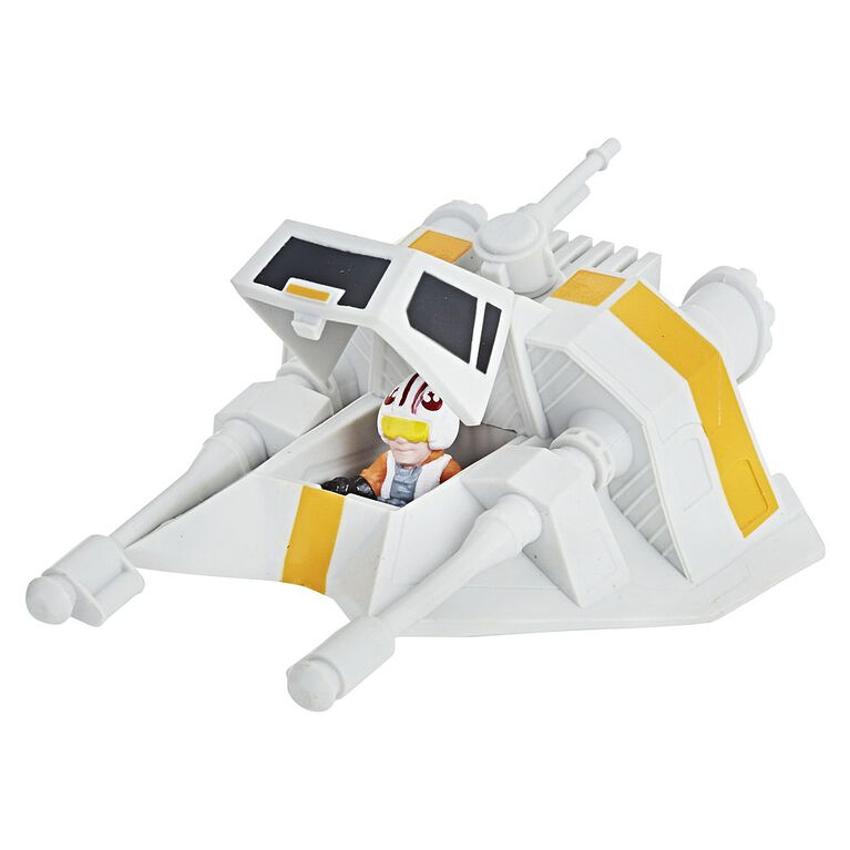 Star Wars Micro Force Snowspeeder & Luke Skywalker