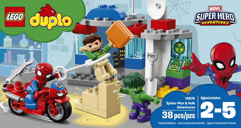 LEGO DUPLO Super Heroes Spider-Man & Hulk Adventures 10876