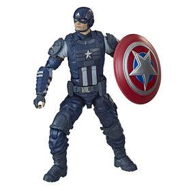 Marvel Legends Series Gamerverse, figurine articulée Captain America
