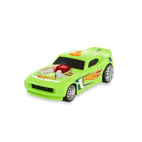 Voiture Hot Wheels Pop Racers - Nitro Door Slammer - R Exclusif