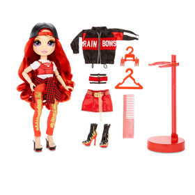 Rainbow High Ruby Anderson - Red Fashion Doll with 2 Outfits