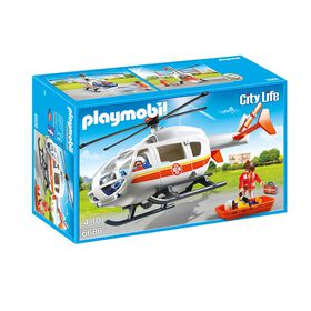 Playmobil - Emergency Medical Helicopter