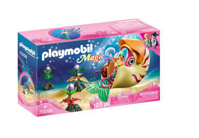 Playmobil Mermaid With Sea Snail Gondola 70098