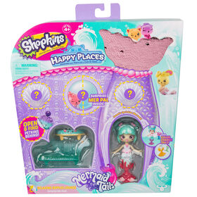 Shopkins Happy Places Salon de la vague relaxante - Emballage surprise.