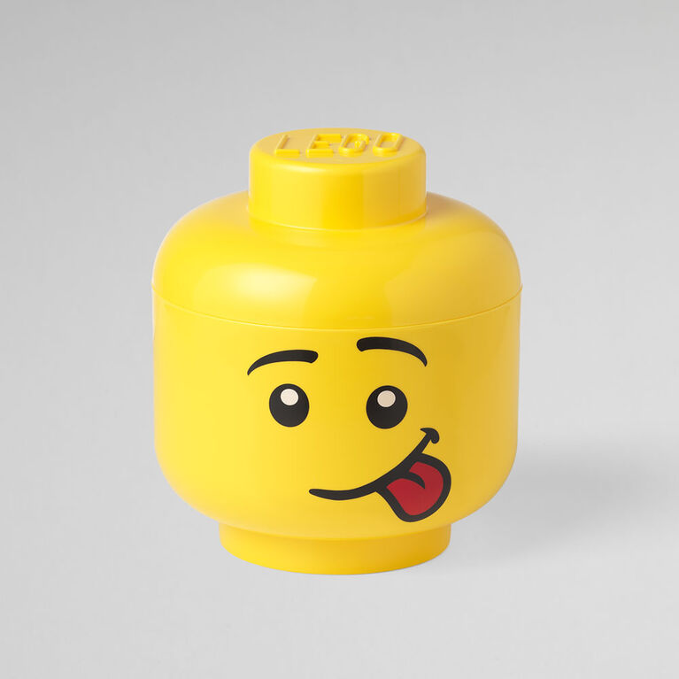 Tête de garçon idiot de rangement grand LEGO