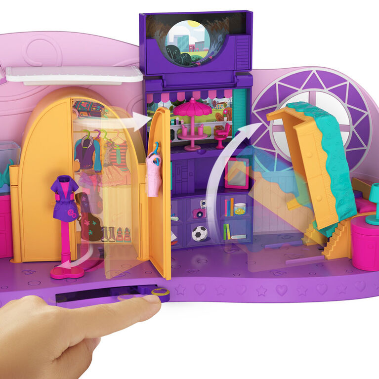 Polly Pocket Go Tiny! Room Playset