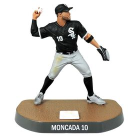 Yoan Moncada White Sox de Chicago Figurine de baseball de 6 pouces.