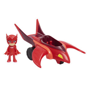 PJ Masks Owlette & Owl Glider, 2-piece set - English Edition