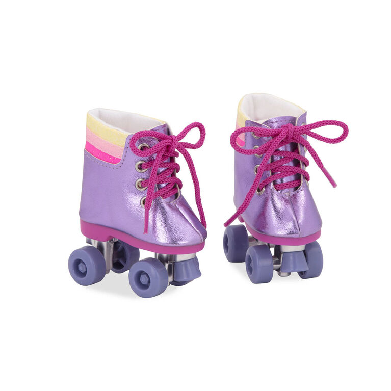 Our Generation, Rainbow Rollers, Roller Skates for 18-inch Dolls