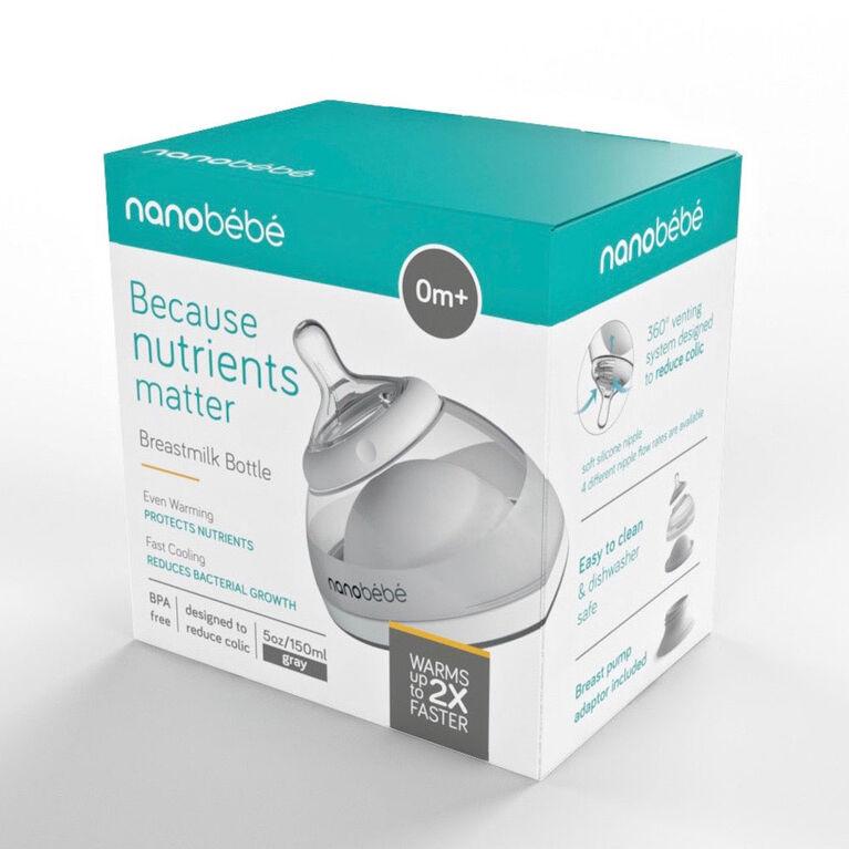 Biberon pour lait maternel Nanobébé 5oz/150ml.