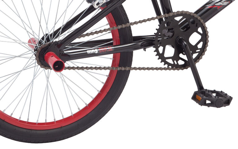 Mongoose Sky Bike, Black and Red - 20 inch