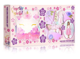 Hop Skip Sparkle Deluxe Unicorn dress set