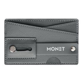 Monet Phone Wallet Grip Stand Gray