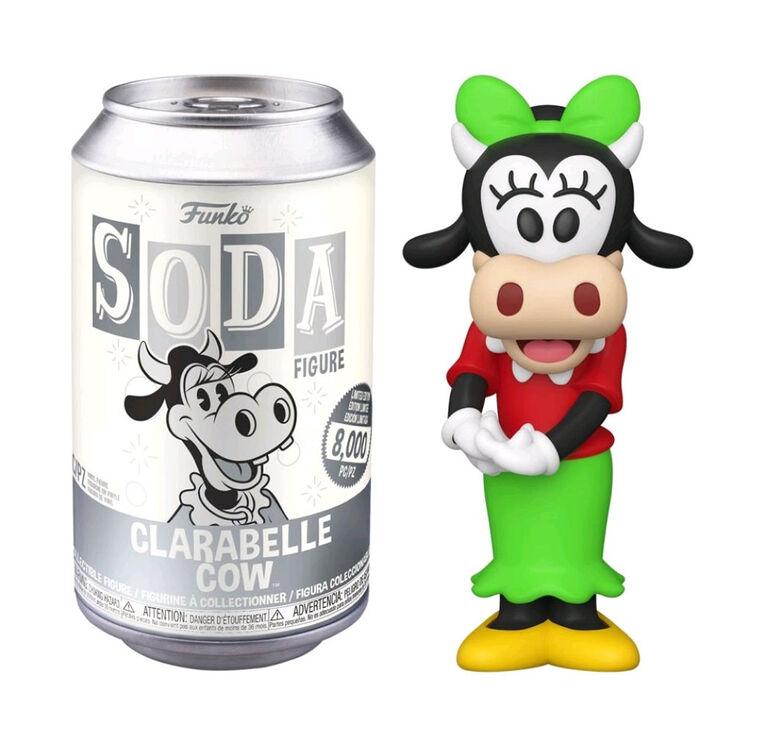 Figurine en Vinyle Clarabelle Cow par Funko SODA Mickey Mouse