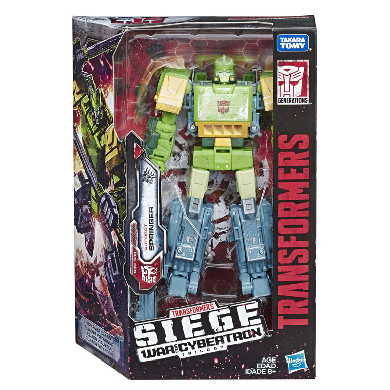 Transformers Generations War for Cybertron Voyager WFC-S38 Autobot Springer