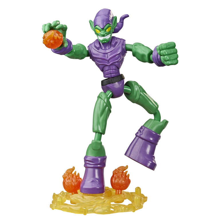 Marvel Spider-Man Bend and Flex, figurine articulée Green Goblin