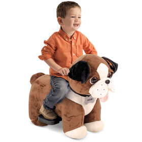 Huffy Auggie - 6V Dog Ride-On Plush Toy
