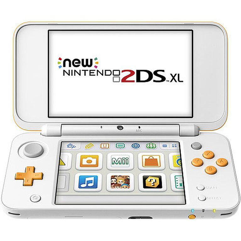 New Nintendo 2DS XL – Orange + White