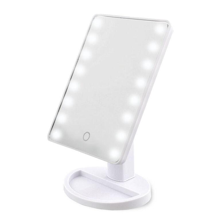 Miroir LED de maquillage et de salle de bains de Hollywood Xpressions