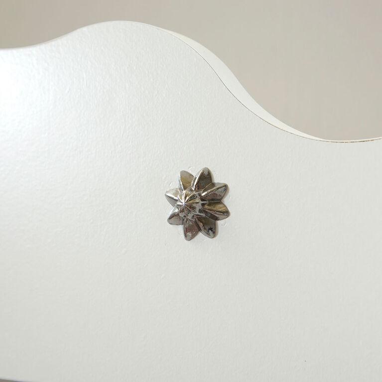Tiara Bilbiothèque 4 tablettes- Blanc solide