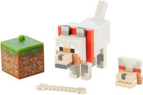 Minecraft - Comic Maker - Figurine articulée - Loup - Édition anglaise
