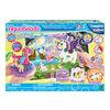 Pack de fête licorne magique Aquabeads, kit complet de perles d'art et d'artisanat