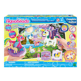Aquabeads Magical Unicorn Party Pack, Complete Arts and Crafts Bead Kit