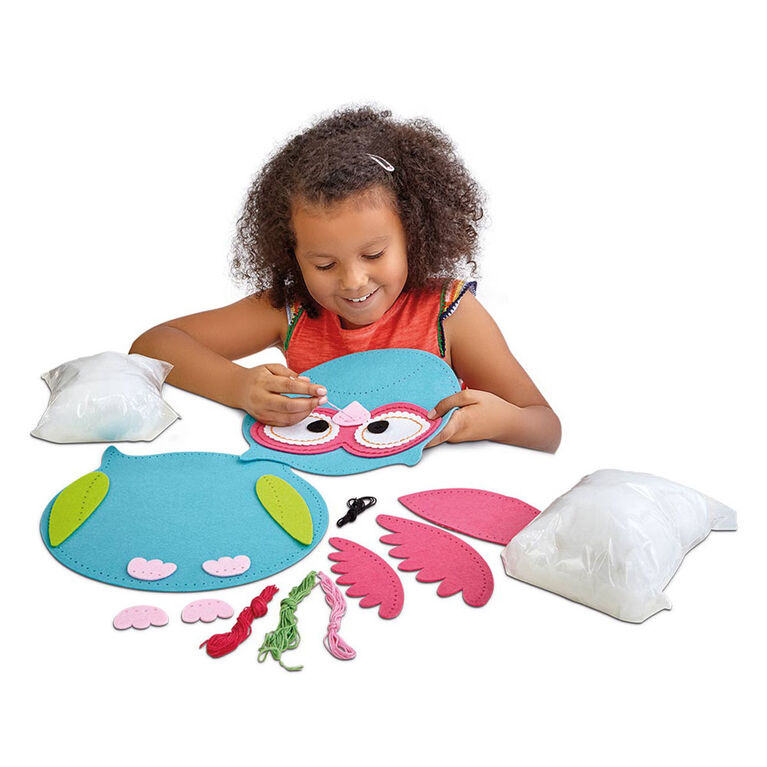Out To Impress Make Your Own Owl Cushion