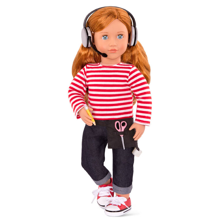 Our Generation, Behind The Scenes, Movie Production Outfit with Accessories for 18-inch Dolls