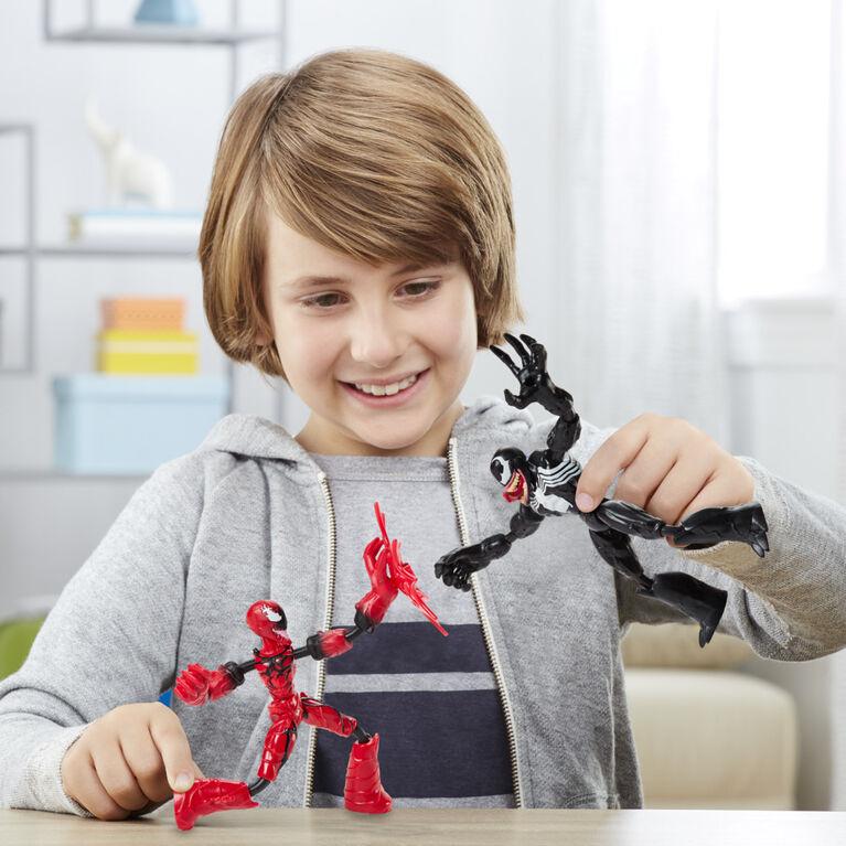 Marvel Spider-Man Bend and Flex Venom Vs. Carnage Action Figure