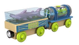 Fisher-Price Thomas & Friends Wood Aquarium Cars