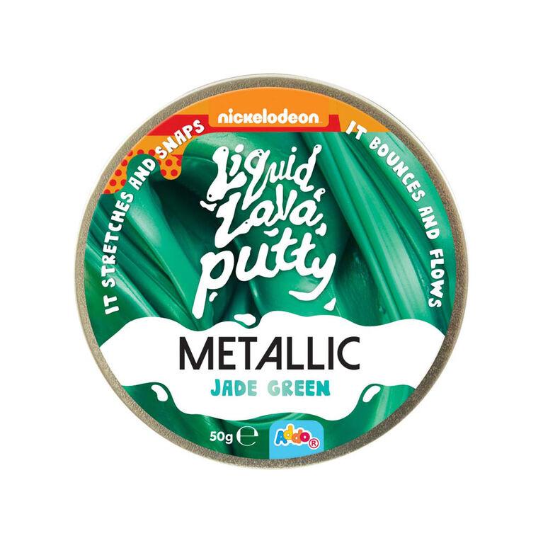 Nickelodeon Liquid Lava Putty Metallic Jade Green - R Exclusive