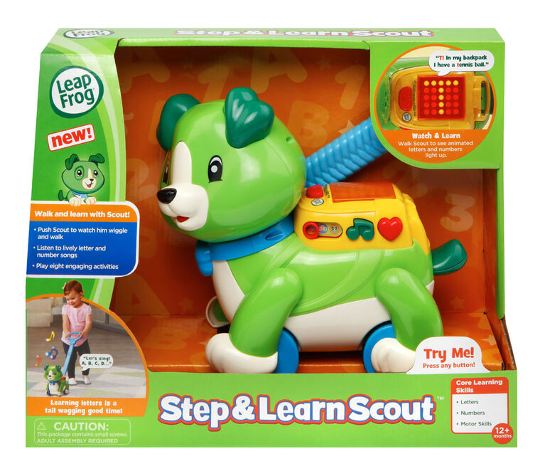 LeapFrog Step & Learn Scout™ - English Edition