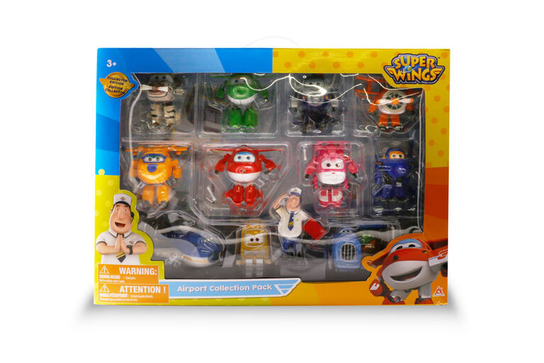 Super Wings - Coffret aéroport de collection