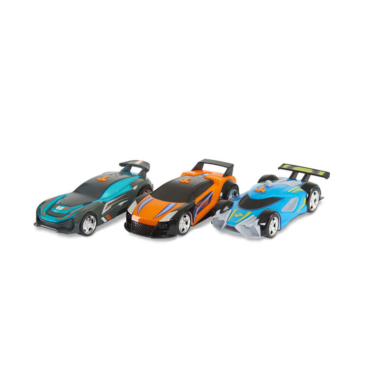 Hot Wheels Color Crashers - Mach Speeder - R Exclusif