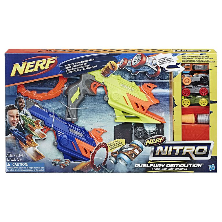NERF Nitro DuelFury Demolition