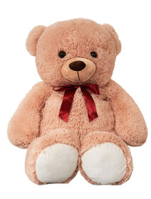 Animal Alley 40 inch / 101cm Bear With Red Bow - R Exclusive
