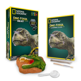 National Geographic Kit de Fouille Fossile Dino