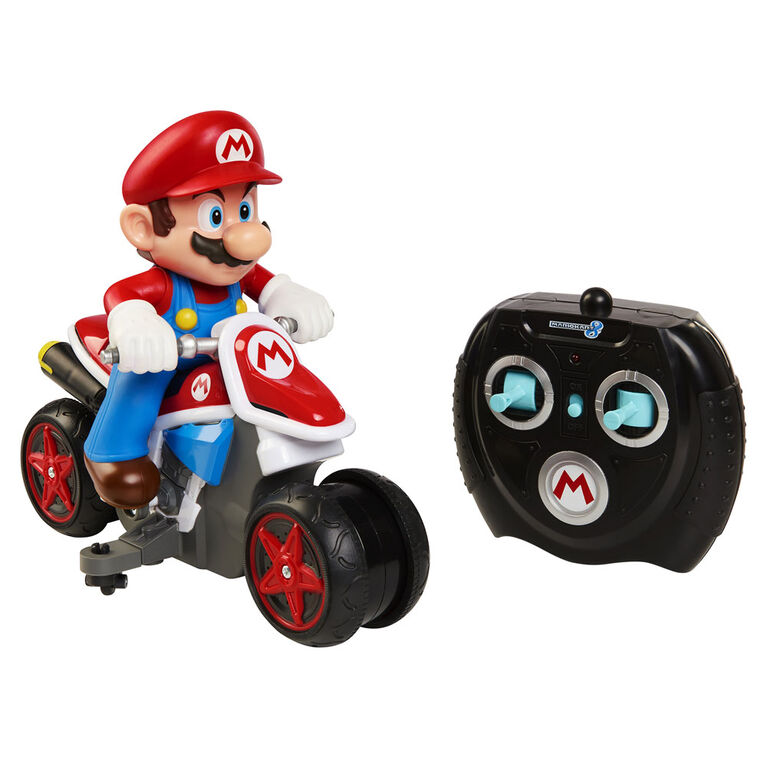 World of Nintendo Mario Kart Mini Motorcycle RC Racer