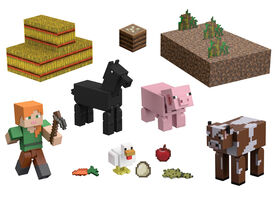 Minecraft Farm Life Adventure Pack Figures