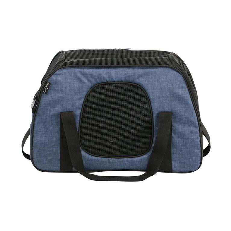 Gen7Pets Carry-Me Sleeper Pet Carrier & Portable Bed - Heather Navy
