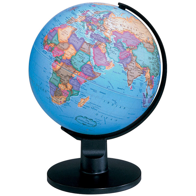 "EduScience - 6"" Geographic Globe"