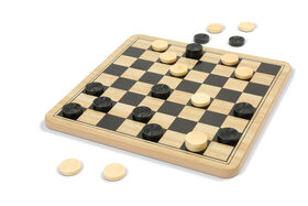 Chess & Checkers In Box