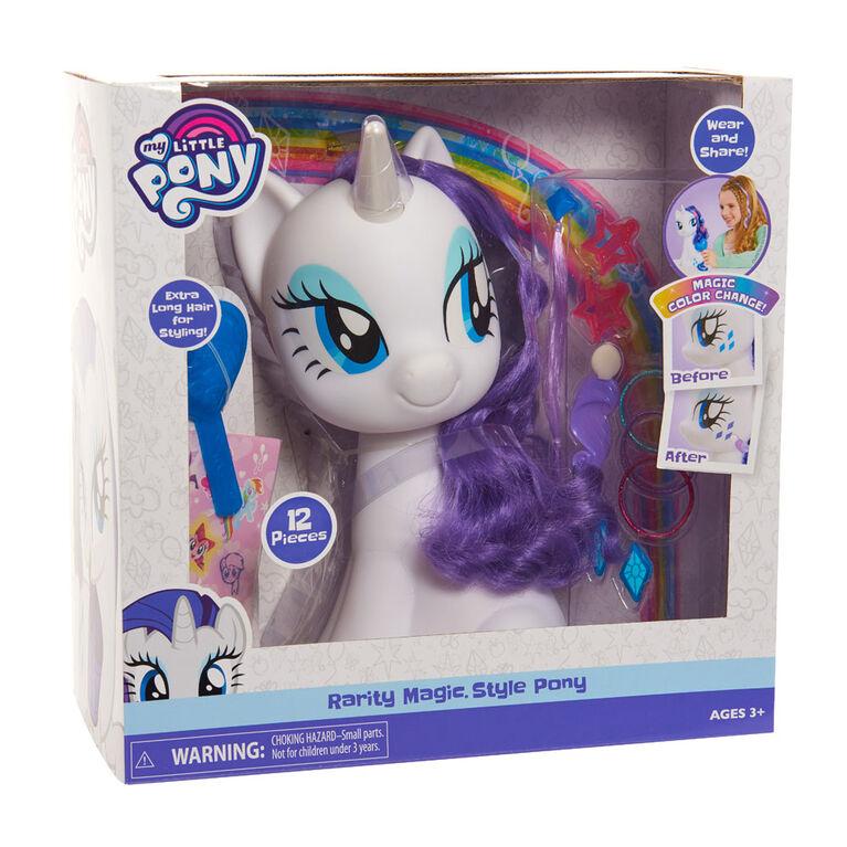 Poney de Coiffure My Little Pony - Rarity - R Exclusif - R Exclusif